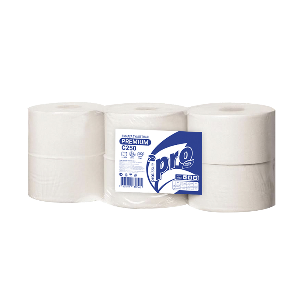 C250_PROtissue_туалетная бумага с центральной вытяжкой